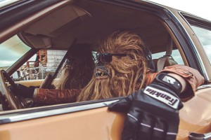 Chewbacca in real life