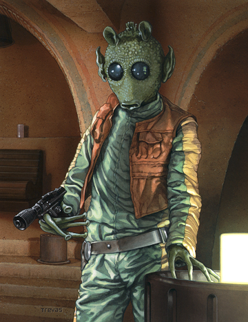 Greedo in Cantina