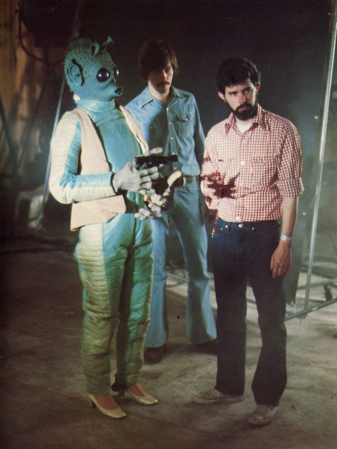 Greedo in heels