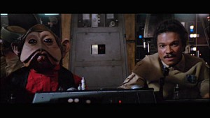 Nien Nunb and Lando Calrissian