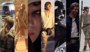 Score the Star Wars movies