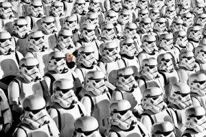 Stormtroopers at Rogue One